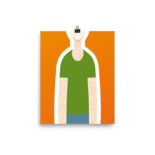 POC Poster: Orange