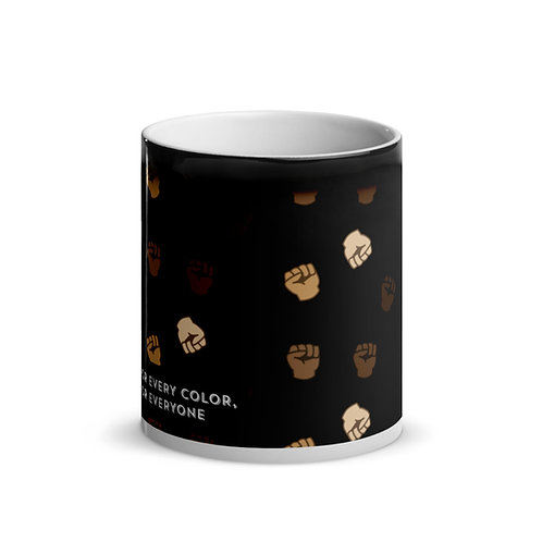 Black Power Fist Magic Mug