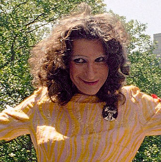 Sylvia Rivera leading an ACT UP march in 1994. (Image Source: AP Photo/Justin Sutcliffe)