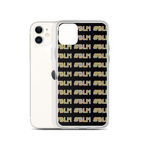 #BLM iPhone Case: BLM Pattern