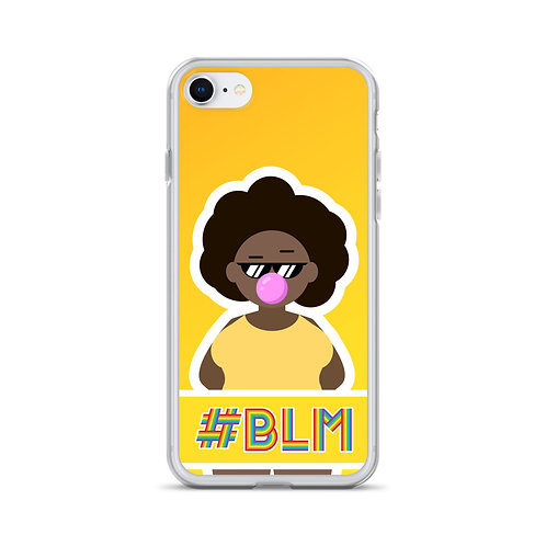 #BLM iPhone Case: Yellow