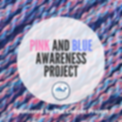 pINK AND bLUE aWARENESS pROJECT instagra