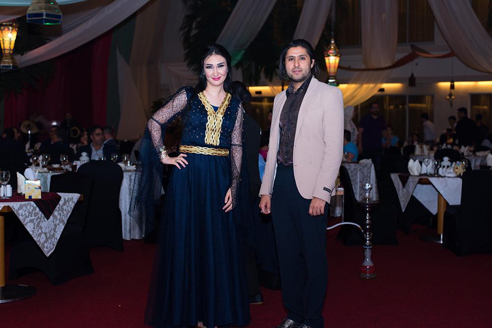 FAHAD And Nagham lana  magazine