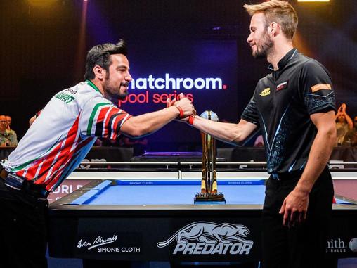 عمر الشاهين الثاني في بطولة العالم للبلياردوا المقامة في المملكة المتحدة البريطانية