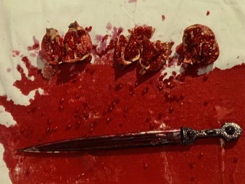 """"""" لون الرمان""""  """"The Color of Pomegranates"""""""