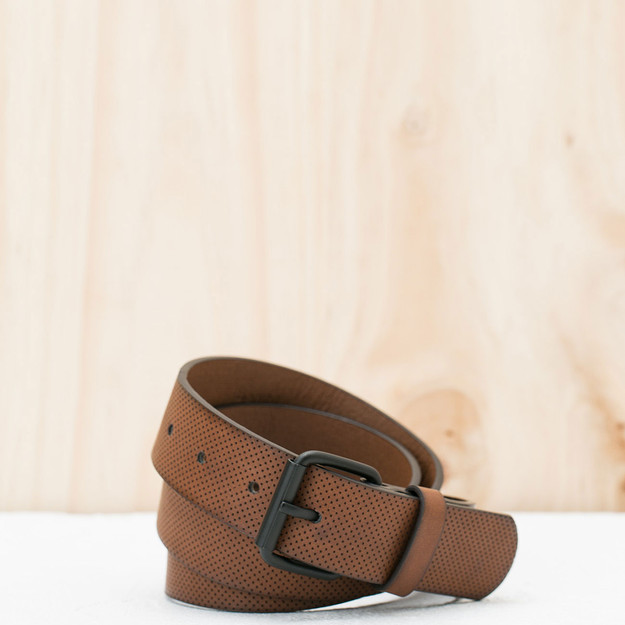 Bershka Perforated micro belt