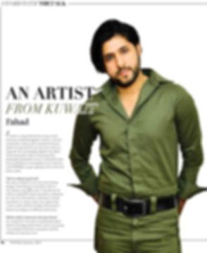 FAHAD Artist & Fashion Designer