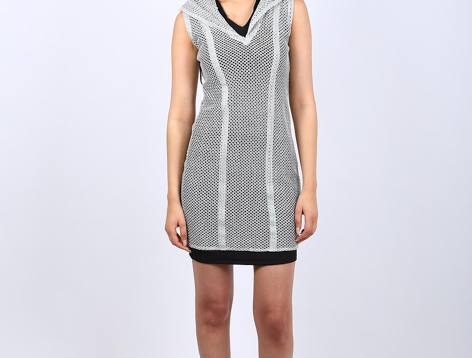 THE SILVER WEB DRESS