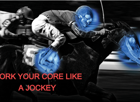 "WORK YOURCORE LIKE A JOCKEY ""Workout"""
