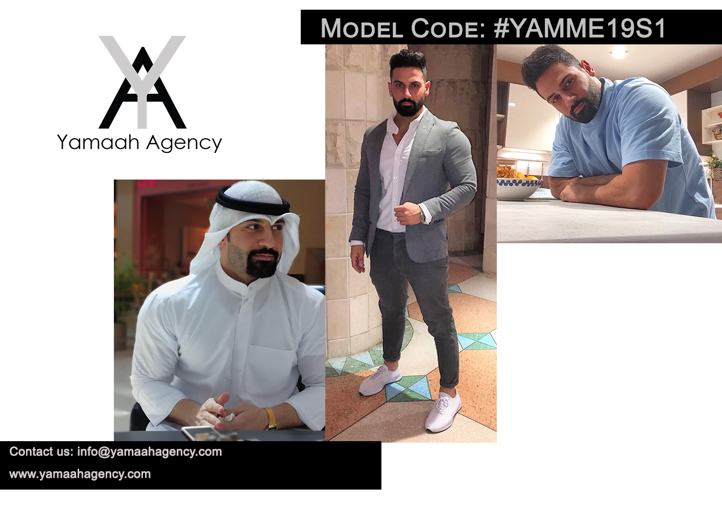 YAMME19S1 Kuwait male models