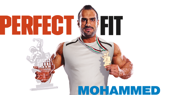 MOHAMMED DASHTI Won the trophy in the heavyweight division