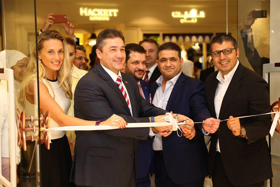 The opening of the high-end Turkish