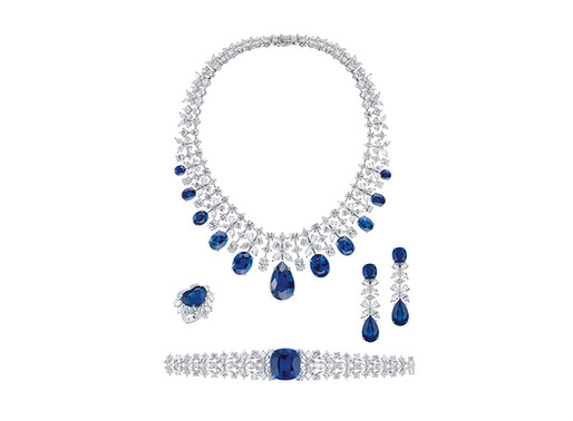 مجموعة ساندريلا للعروس من  مجوهرات معوض