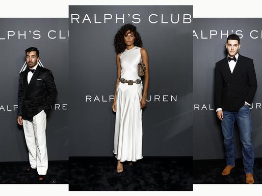 إطلالات المشاهير في احتفال رالف لورين  بإطلاق أو دو بارفان رالف كلوب مع لوكا سبات في باريس