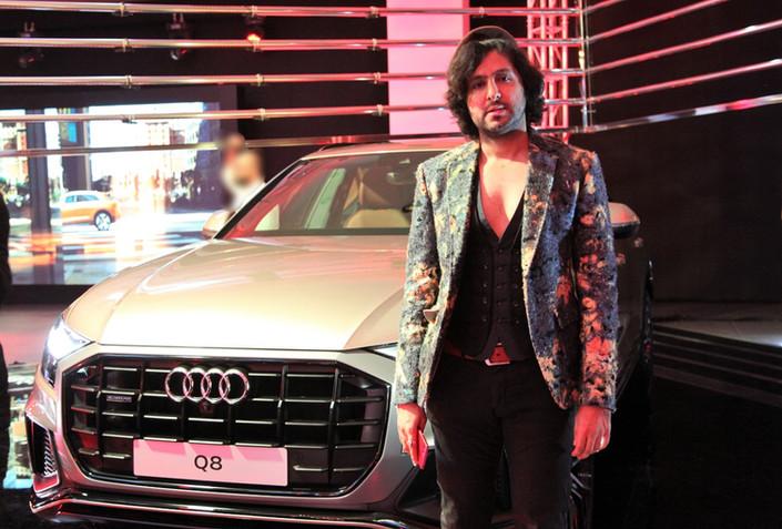 FAHADatAudi KuwaitThe first-ever Audi حفل اطلاق سيارة#اوديالجديدة كلياً