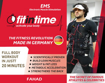 """FAHAD The Face of """"Fit in Time"""" 2018 Kuwait EMS تكنولوجيا"""