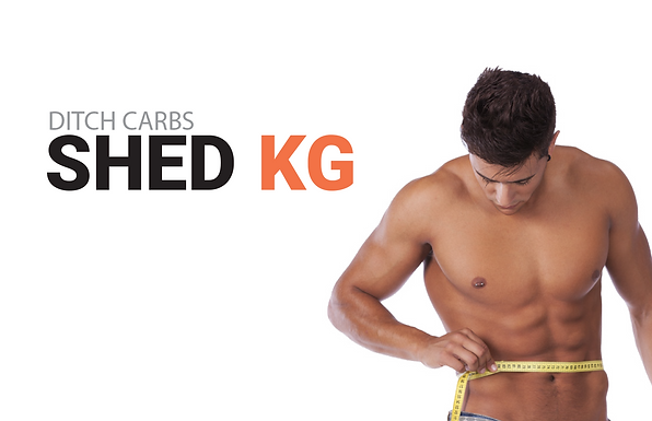 Ditch carbs shed KG