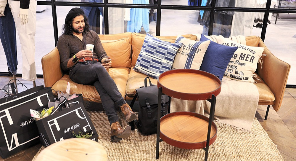 Fahad life at hm home concept store kuwait