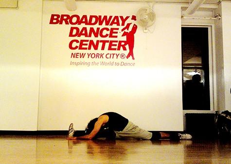 تجربتي مع مركز برودواي للرقص My experience with (Broadway dance center)