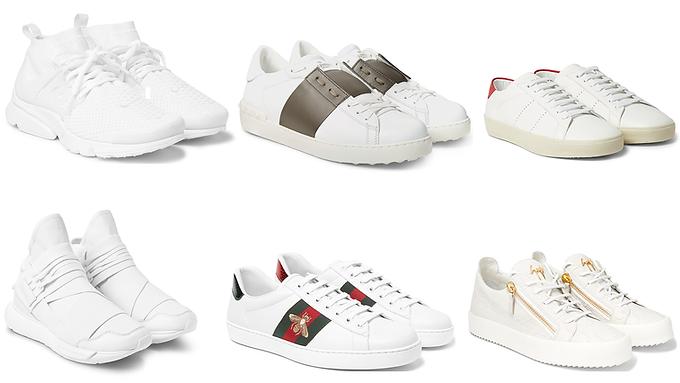 White Sneakers احذية السنيكرز البيضاء موضة لاتموت