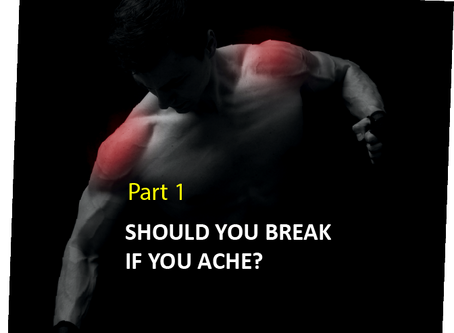 SHOULD YOU BREAK IF YOU ACHE? Part 1
