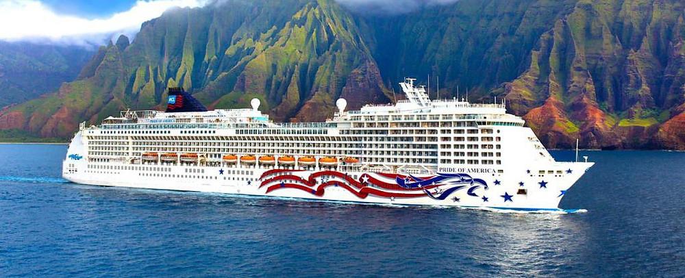 خط الرحلات البحرية النرويجية NOR WEGIAN CRUISE  LINE'S PRIDE OF  AMERICA