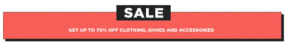 Up To 70 Off Clothing Shoes And Accesories