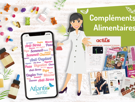 Compléments alimentaires : L'expertise d'Atlantic Santé au profit de votre produit