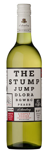 THE STUMP JUMP 2019 Lightly Wooded Chardonnay
