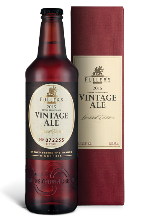 2015 Vintage Ale | Case of 12 x 500mL Bottles