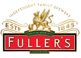 The Fuller's Ale Logo including a golden Griffin to represent the Griffin Brewery in Chiswick.