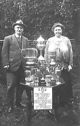Mr. Sid Bowler and his wife Nellie Bowler (née White)