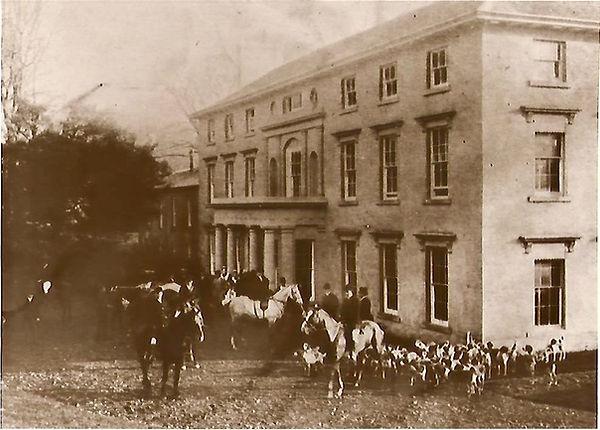 Hunt at Sealyham Mansion 1903