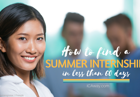 How to Find a Summer Internship in Less Than 60 Days as an International Student