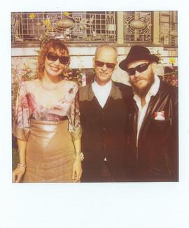 Eva Dorrepaal, John Waters & Edwin Brienen at Lausanne Film Festival