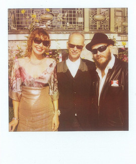 Eva Dorrepaal, John Waters & Edwin Brienen at Lausanne Film Festival