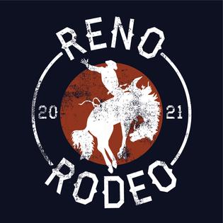 Reno Rodeo Bronco Design