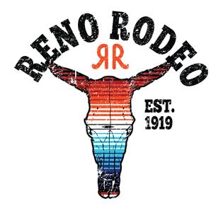 Reno Rodeo Cow Skull Design