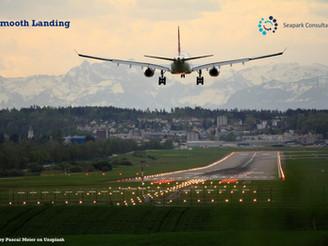 A smooth landing