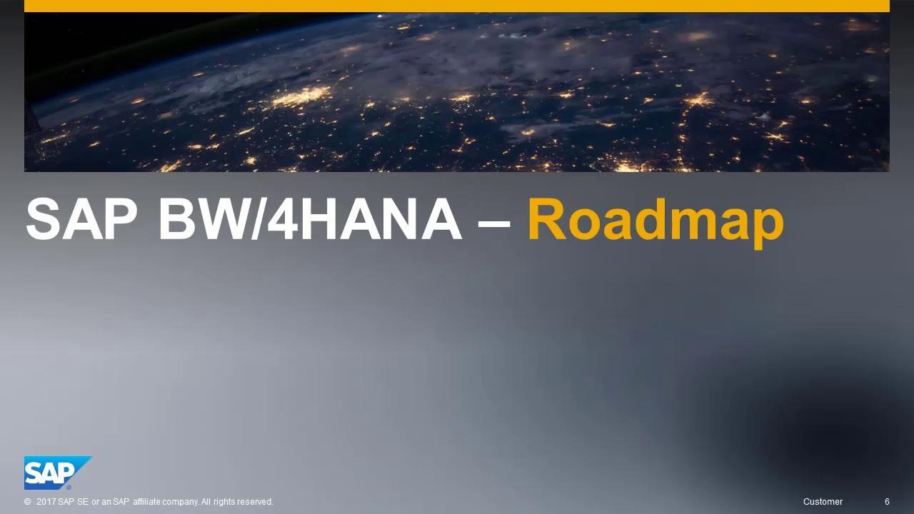 SAP BW/4HANA Migration - Discover Prepare Phase – Part 2
