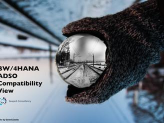 BW/4HANA ADSO Compatibility View