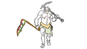 Trollok harca