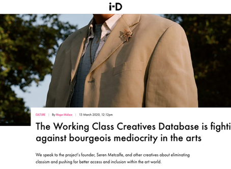 ID MAG Feature - Working Class Creatives Database