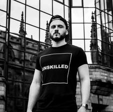 Black UNSKILLED T-Shirt