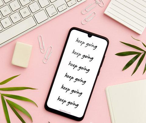 Keep Going - Digital Download