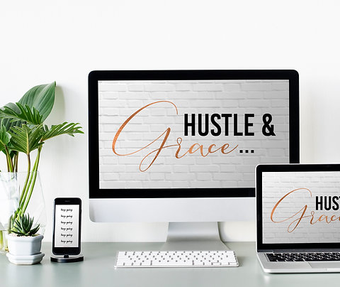 Hustle and Grace Printable Download