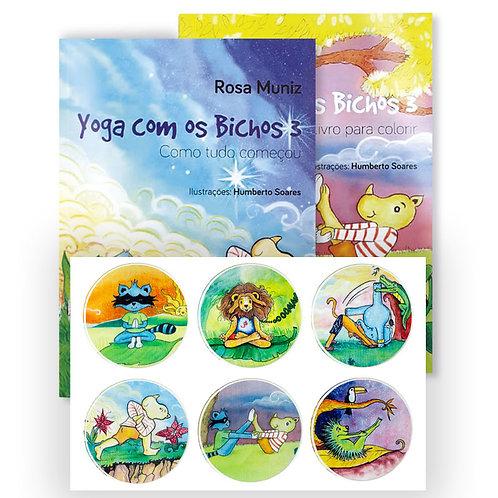 (Novo) Kit Yoga com os Bichos 3 – como tudo começou.