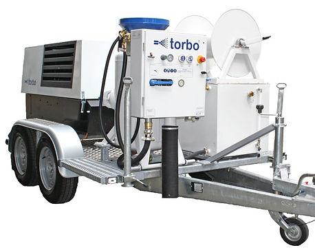Smilšu strūklas iekartas TORBO