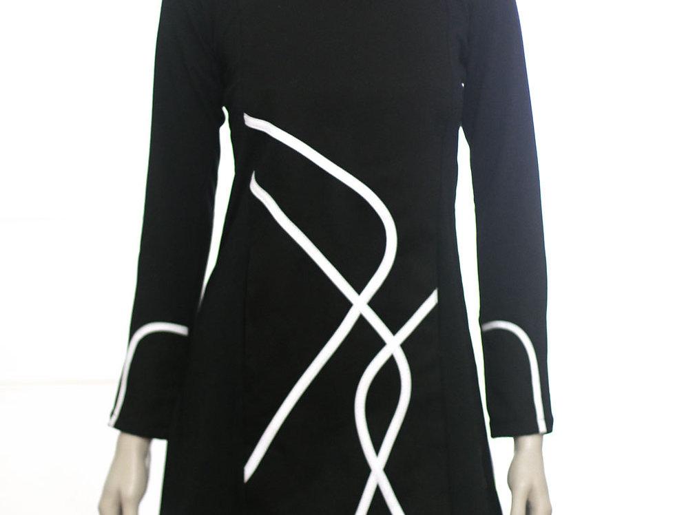 Vestido Día Exacto (negro)