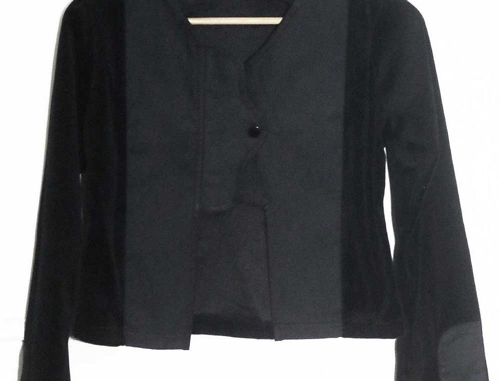 Saquito plush (negro)